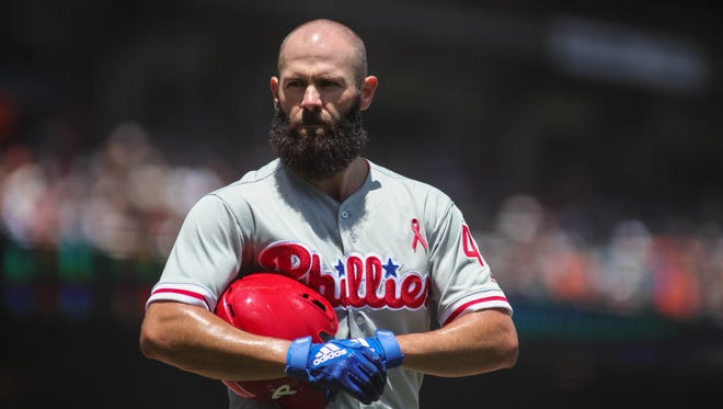 Jake Arrieta takes the hill for the Phillies when they host the Miami Marlins on Saturday.