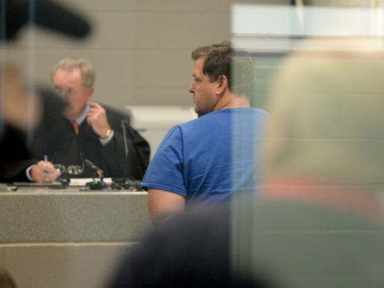 A court hearing at the Spartanburg County Detention Center was held for Todd Kohlhepp  after a missing woman was found chained on his Wofford Road property.