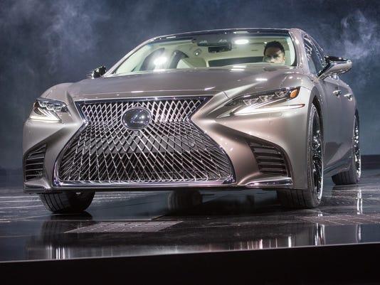 Lexus shows of the LS