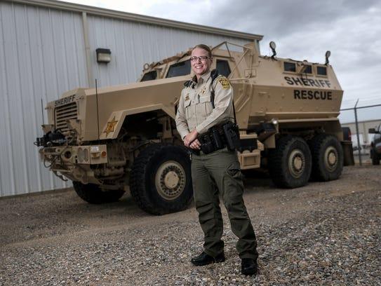 San Juan County Sheriff's Office Deputy Robyn Roe is