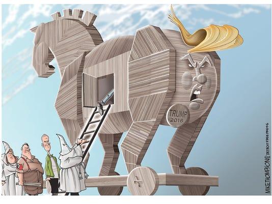 Donald Trump's dog-whistle politics