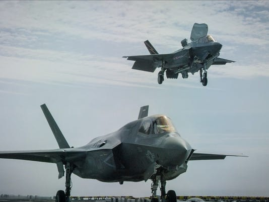 Navy F-35B fighters
