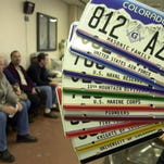 Colorado DMV issued duplicate license plates