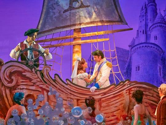 """The Little Mermaid"" features a heartwarming story of overcoming adversity. Shows run Oct. 24-29 at The Auditorium Theatre."