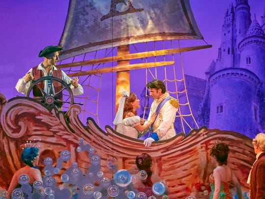 The Little Mermaid features a heartwarming story of overcoming adversity. Shows run Oct. 24-29 at The Auditorium Theatre.