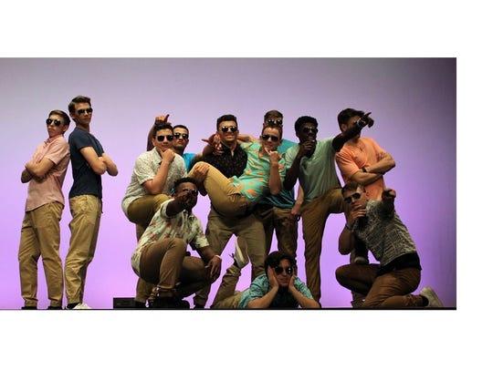 Twelve seniors took the stage at Delsea Regional High