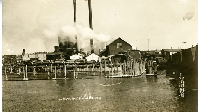 The Barker-Stewart Mill opened in the late 1800s, and was one of 13 mills along the Wisconsin River in Wausau.