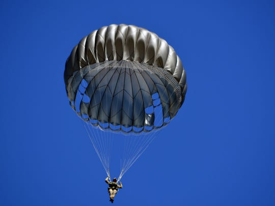 An airborne parachute re-enactement with 12 jumpers will be a first for the Stuart Air Show on Nov. 5 and 6.
