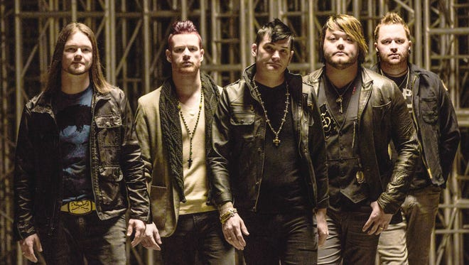 Hinder will bring its acoustic tour to Binghamton on Tuesday.