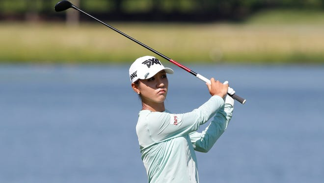 Lydia Ko shot a 66 in the second round of the KPMG Women's PGA Championship.
