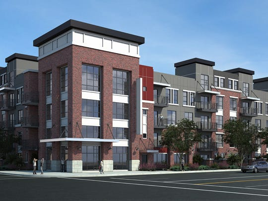 Developer Wood Partners is proposing a 225-unit project
