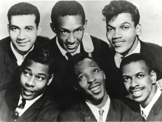 The Contours, (back row) Billy Hoggs, Huey Davis, Hubert
