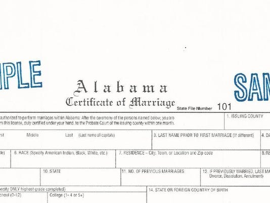 Bill to abolish Ala marriage licenses defeated