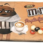 The Hackettstown-based Chocolate Division of Mars Inc. this week launched its newest product, Pumpkin Spice Latte-flavored M&M's.