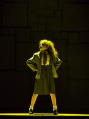 """Jenna Weir in the girl-power title role of """"Matilda"""