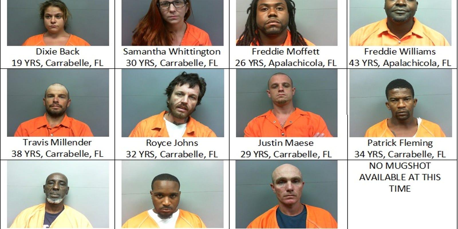 12 arrested in Franklin County drug sting