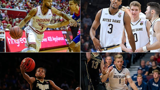 All four teams in Saturday's Crossroads Classic are ranked.