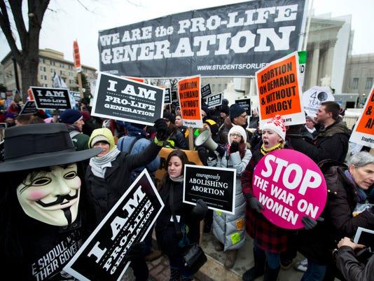 Abortion demonstration