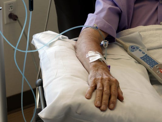 Study: Chemo doesn't help end-stage cancer patients