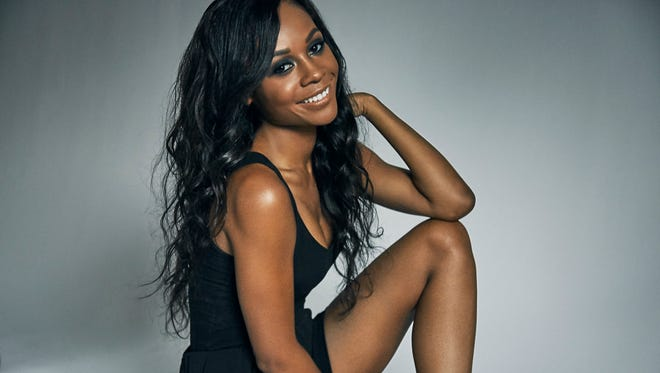 E! News correspondent Zuri Hall. Hall got her start on television in Indianapolis on MyINDY-TV.