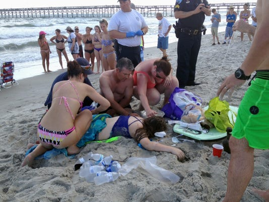Two teenagers injured in separate shark attacks off N.C. coast