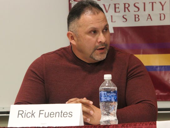 Loving school board candidate Rick Fuentes urges more