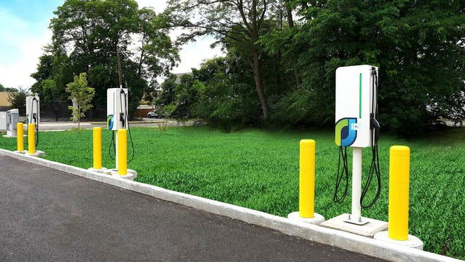 Altus Power America wants to bring Port Jervis electric vehicle charging stations like this one in Massachusetts.