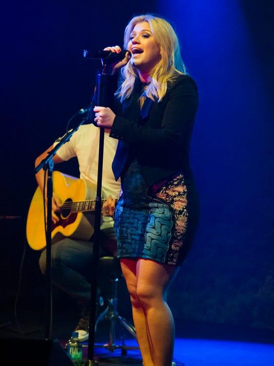 AP Kelly Clarkson Fair Trade Month Concert