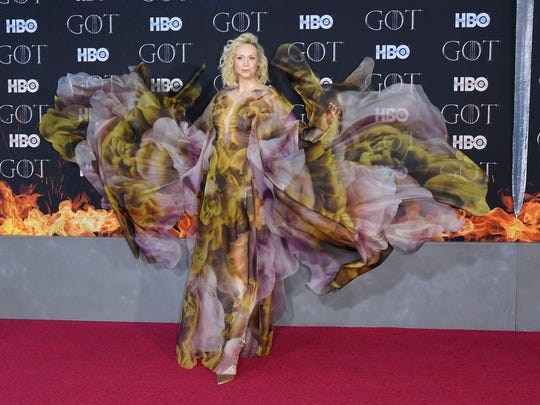 """Gwendoline Christie arrives for the """"Game of Thrones"""""""