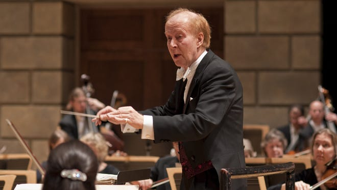 Former RPO conductor Christopher Seaman returns to conduct the orchestra.