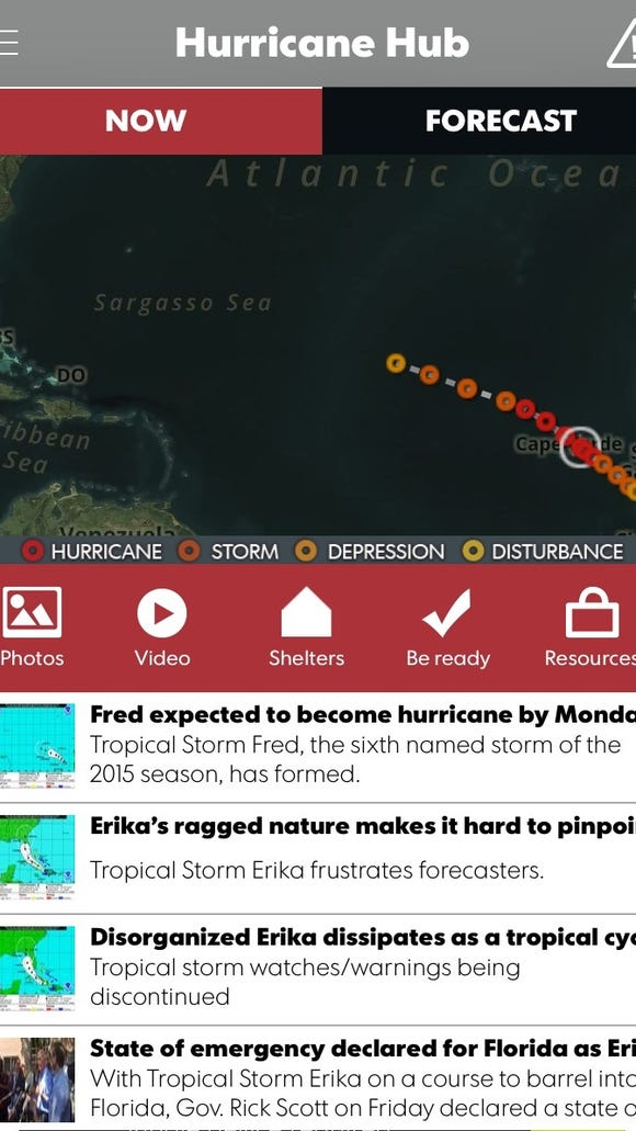 Our Hurricane Hub app keeps you informed and helps you plan for your family's safety.