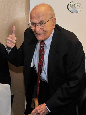 """John Dingell wasknown as the""""Dean of Twitter"""" for a good reason."""
