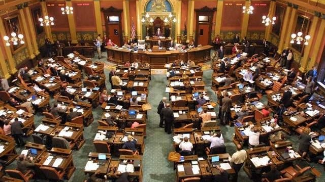 The state House chamber is seen in this LSJ file photo.