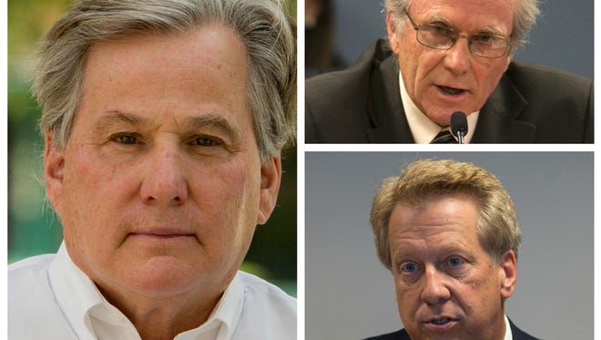 Bill Mundell (clockwise from left), Bob Burns and Boyd Dunn deserve your vote for Arizona Corporation Commission.