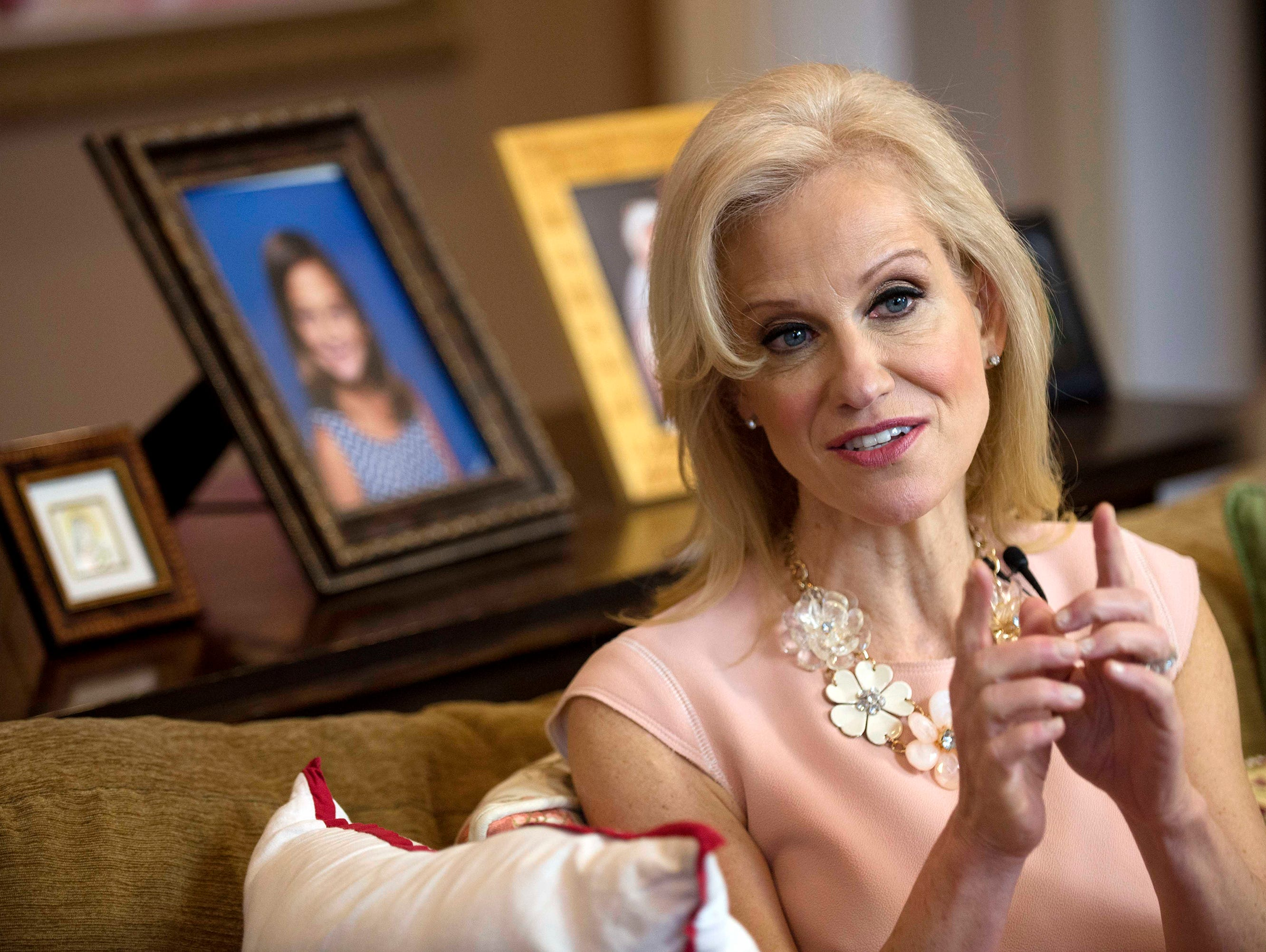 A cousin reveals the real Kellyanne Conway.