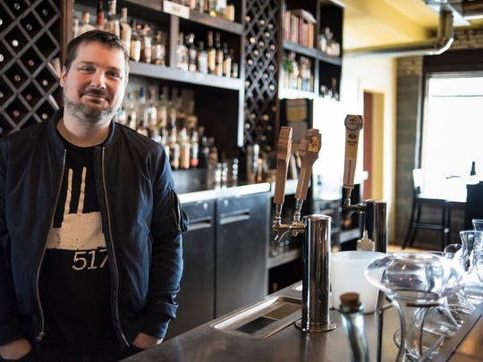 Justin King, owner and general manager of Bridge Street Social in downtown DeWitt.