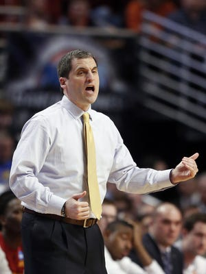 Iowa State head coach Steve Prohm guided his team to a 23-12 record and to the second weekend of the NCAA Tournament in his first season at the school.