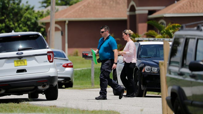 Cape Coral Police responded to a death investigation of two individuals at 2040 NW 5th Street. Officers responded at 12:20 PM on Wednesday, 7/25/18. Cape Coral Police Detectives, forensics personnel, and victim advocates were at the scene.