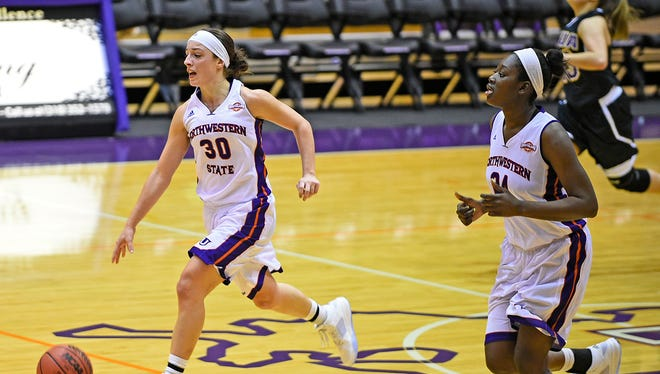 Northwestern State's Beatrice Attura is a second-team preseason All-SLC choice.