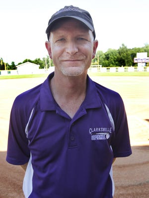 Clarksville coach Brian Rush led the Lady Wildcats to a school-record 38 wins this past season and back to the state softball tournament.
