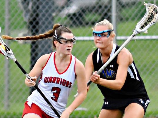 Susquehannock vs Kennard-Dale girls' lacrosse championship
