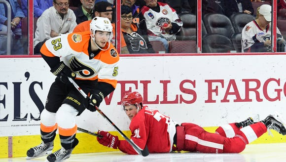 Shayne Gostisbehere are hoping to put a loss Monday