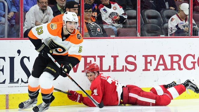Shayne Gostisbehere are hoping to put a loss Monday night behind them.