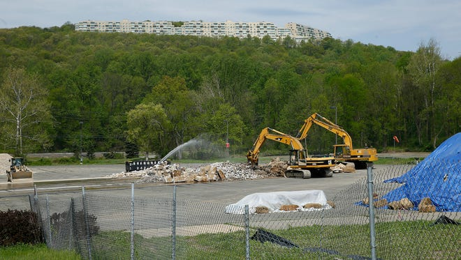 The vacant former Pfizer property on Route 53 in Morris Plains. There are future plans to build townhomes and a hotel. May 10, 2018. Morris Plains, NJ