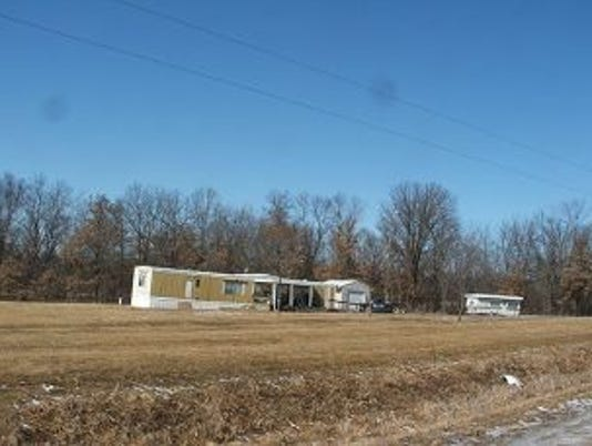 Michael Owings' mobile home