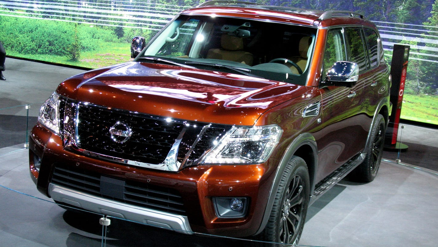 2017 nissan armada is big and beautiful. Black Bedroom Furniture Sets. Home Design Ideas