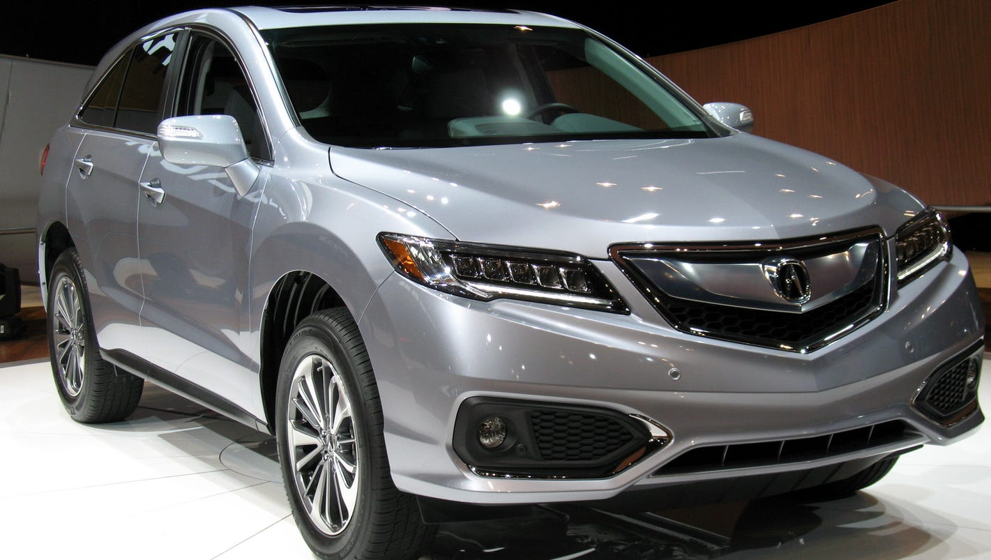 2017 acura rdx suv brings the heat. Black Bedroom Furniture Sets. Home Design Ideas