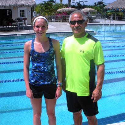 Maddy Burt is joined by Kamal Farhat, coach of the Marco Y's youth swim team.
