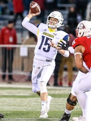 Northern Arizona's Case Cookus was first-team All-Big