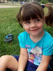 Gabrielle Barrett, 4, died after being found with severe